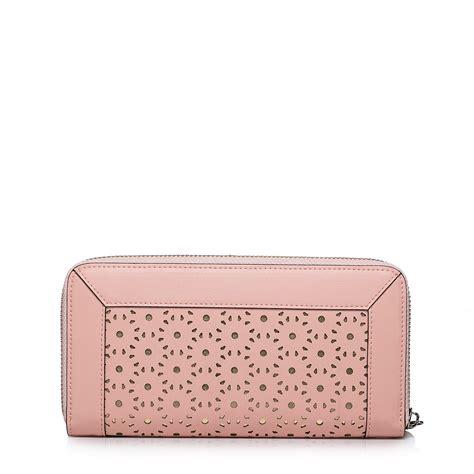 Purse Nucelle Pink 070347 04 nucelle delicate genuine leather purse pink