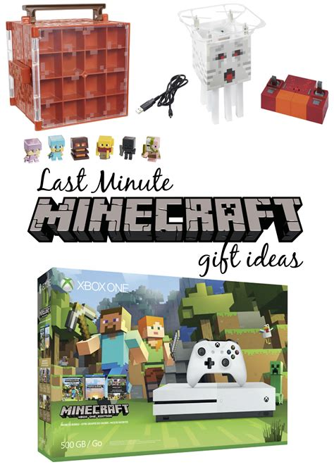 Where To Buy Minecraft Gift Cards - last minute minecraft gift ideas