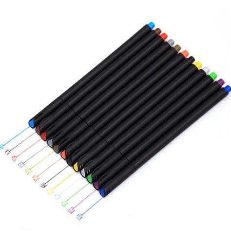 color pen set 24 fineliner colors pen set 0 38mm colored line