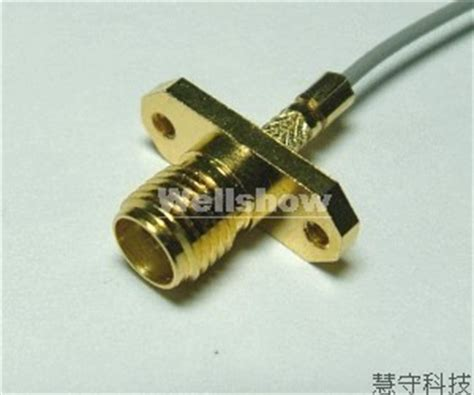 Conector Rp Sma Chasis rp sma panel connector waterproof rf