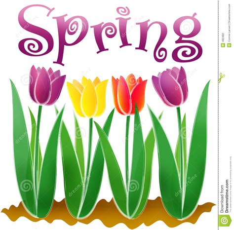 what is spring spring eps stock vector image of happy card clipart