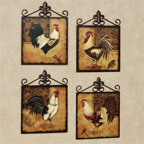 Kitchen Wall Plaques by Rooster Decor Bloggerluv