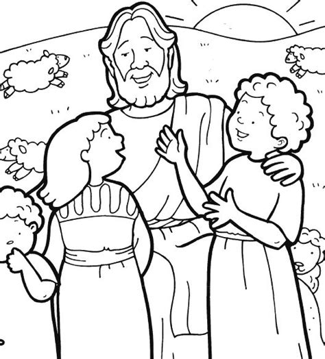 coloring pages jesus child jesus and children coloring page shut in cards