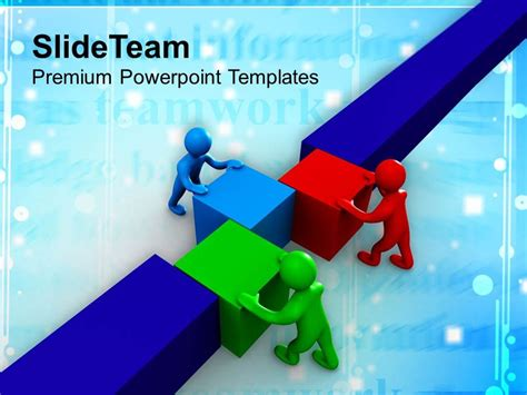 0413 3d man teamwork business strategy powerpoint