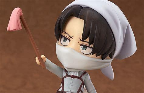 Harga Nendoroid Levi nendoroid levi mode bersih bersih akan dirilis secara
