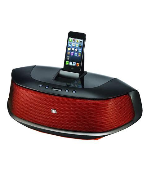 Speaker Jbl Iphone buy jbl onbeat rumble speaker dock for iphone 5 at best price in india snapdeal