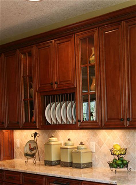 Plate Rack Kitchen Cabinet by Woodmaster Woodworks Inc Precious Plate Racks
