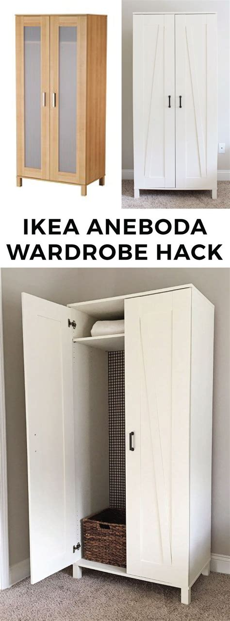 kleiderschrank hacks ikea aneboda wardrobe inside nazarm