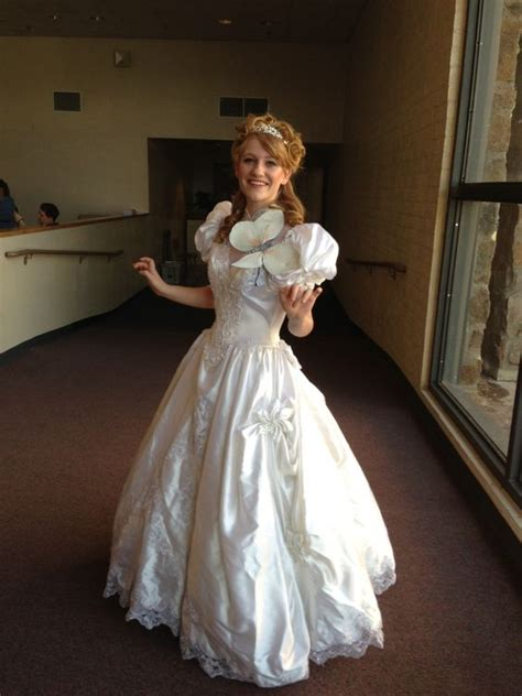 Wedding Dress Costume by Diy From Enchanted Costume Wedding Dress From