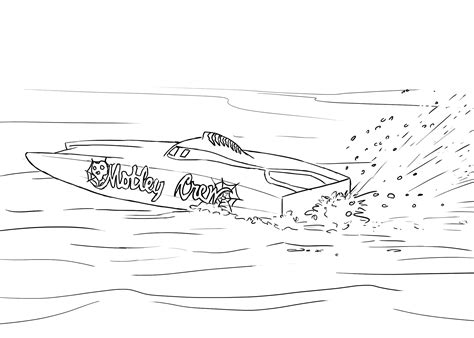 boat themed drawing rc car action has teamed up with utahrc and rc 4 a cure on