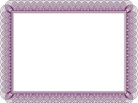 border certificate template blank certificate borders studio design gallery