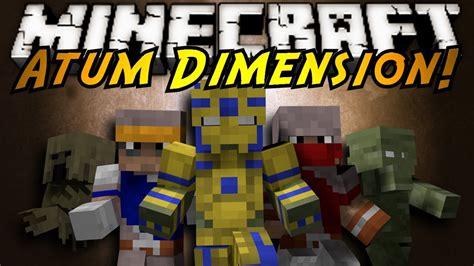 mod minecraft hack gamemode minecraft mod showcase atum dimension youtube