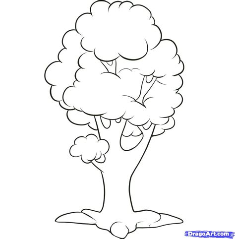 easy tree to draw how to draw an easy tree step by step trees pop culture