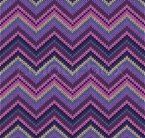 Muster Blau Gelb Rosa Blau Violett Gelb Stricken Textur Sch 246 Ne Gewirke Muster Vektorgrafik Colourbox