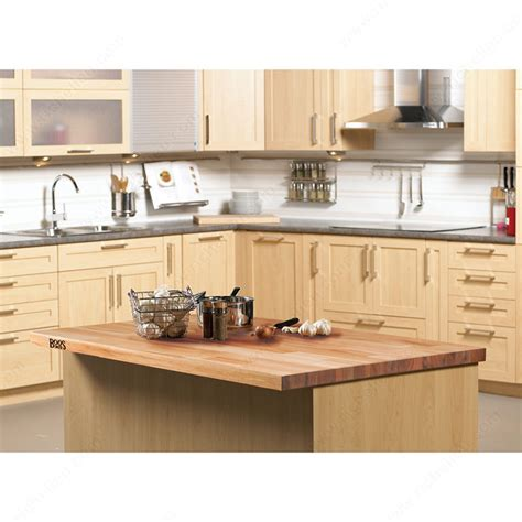 countertops in blended wood richelieu hardware