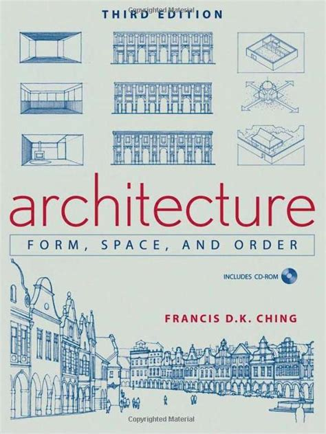 reference architecture books francis d k ching architecture form space and order