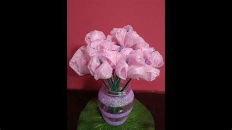 How To Make Handmade Flower Bouquet - diy crafts home decor how to make fabric flower