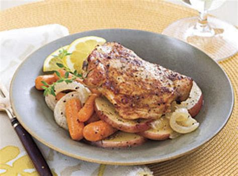 crock pot braised chicken thighs recipe just a pinch recipes