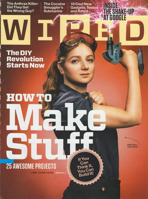 design magazine tagline wired magazine s cover features its first lady engineer