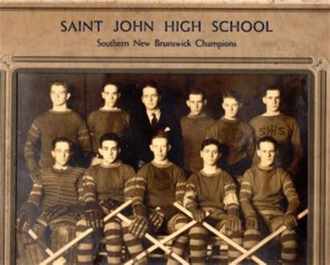 saint john high school; southern new brunswick champions