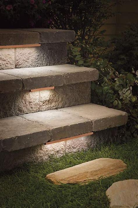 outdoor stair lighting ideas best 10 outdoor steps ideas on garden steps