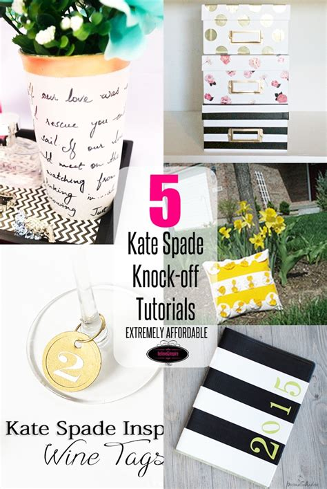 5 kate spade home decor knock tutorials on