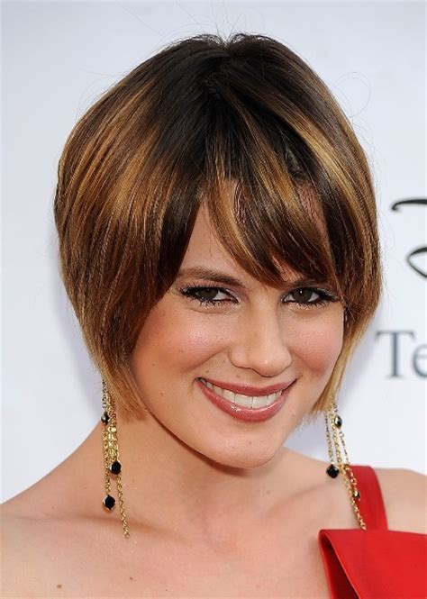 hairstyle for square and hair short layered bob hairstyles for fine hair