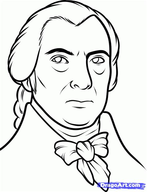 how to draw step by step john adams how to draw james madison james madison step 7 art