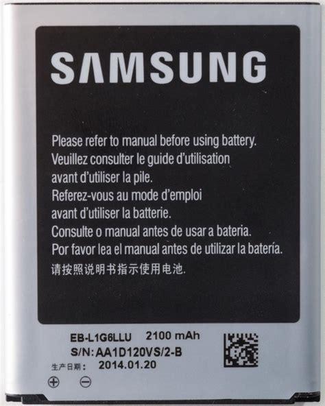 Samsung Battery Eb Ba710abe Galaxy A7 2016 Original 1 samsung eb l1g6llu original battery 2100mah i9300 galaxy