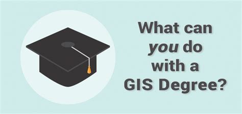 What Can U Do With An Mba Degree by What Can You Do With A Gis Degree Gis Geography