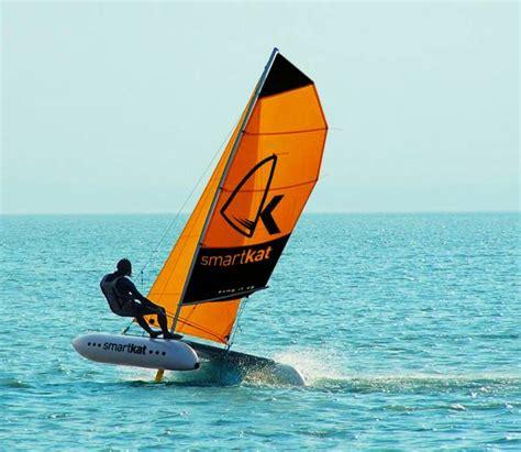 smartkat catamaran australia smartkat portable mobile sailing school team building