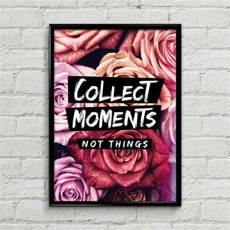 printable a4 poster collect moments printable a4 poster by mysticemma on