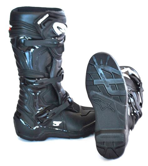 botas alpinestar tech 3 bota alpinestars tech 3 enduro preta
