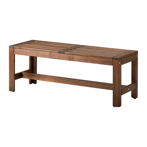 ilea bench 196 pplar 214 bench outdoor ikea