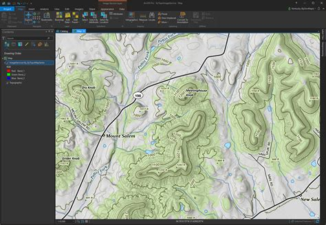 arcgis layout geotiff kytopo kentucky s new topographic map series the view
