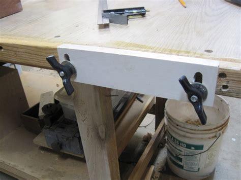 bench upgrade shop   vise  adjustable stop