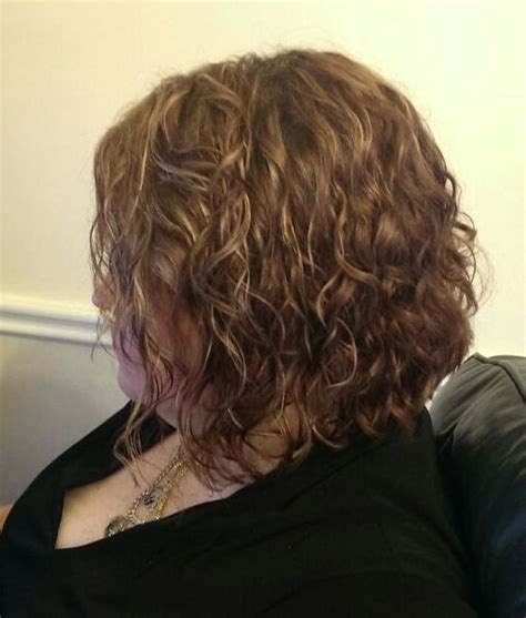 Drying Curly Hair With Cold Air cold perm with 1 quot rods air dried no more drying with