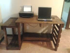 diy computer desk woodwork diy computer desk plans pdf plans