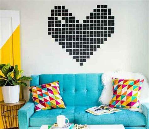 membuat hiasan dinding dari benang ide hiasan dinding dari kertas untuk kamar yang lebih