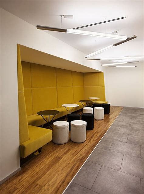 bench seating for waiting rooms break out alcove by mimari studio commercial design