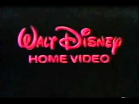 1986 walt disney home video logo aka youtube walt disney home video logo mpg youtube