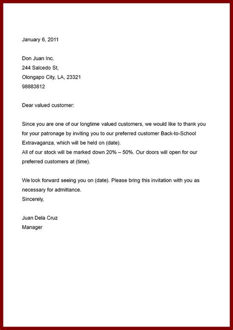 sle business letter format image titled write a business letter step 20 the best way to