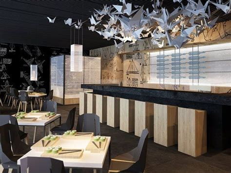 Sushi Interior Design by 25 Best Ideas About Sushi Bar Design On Sushi