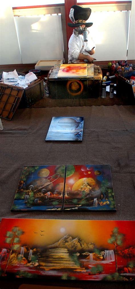 joshua moonshine spray paint on the draw spray painter amazes wildwood boardwalk