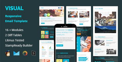 themeforest newsletter visual multipurpose responsive email template by