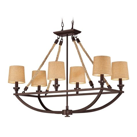 brown chandelier l shades chandelier with brown shades in aged bronze finish 63019
