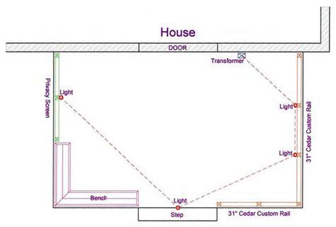 running low voltage wire outdoor lighting diy deck plans