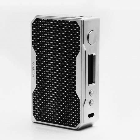 Drag Voopoo Mod Authentic authentic voopoo drag 157w silver black tc vw variable wattage box mod