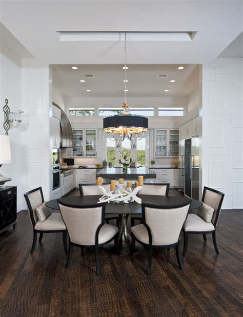 houzz com dining rooms kit dr open but separate spaces photos