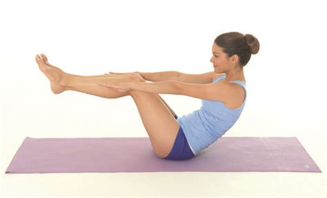 boat pose arm pulses 7 exercises to tone your body